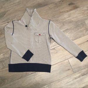 Jcrew Crewcuts Boys shawl collar pullover